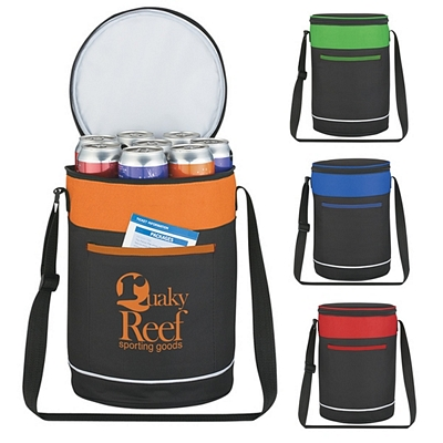 Custom Barrel Buddy Round Kooler Bag