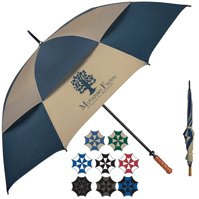 Promotional 68 Arc Vented Windproof Umbrella