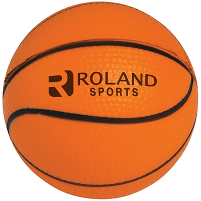 Promotional Basketball Stress Relievers