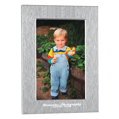 Promotional 5X7 Silver Photo Frame
