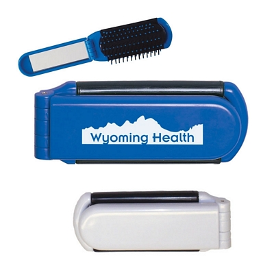 Custom Kwik-Fix Folding Comb With Mirror