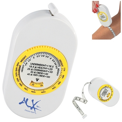 Promotional Body Tape Measure With Bmi Scale