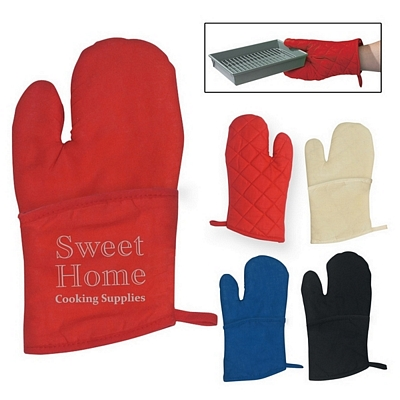 Promotional Quilted Cotton Canvas Oven Mitt