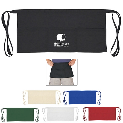 Promotional 3 Pocket Waiter Waist Apron