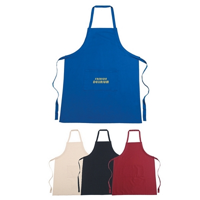 Promotional 100 Cotton Screen Printed Apron