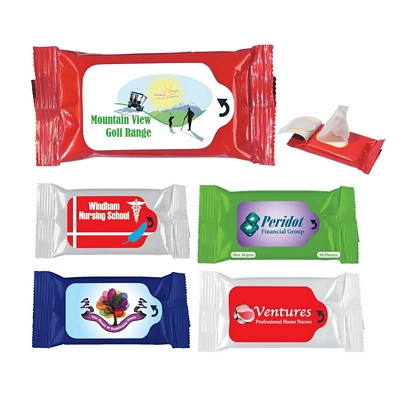Promotional Antibacterial Wet Wipe Packet