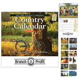 Promotional The Old FarmerS Almanac Country Wall Calendar - Spiral