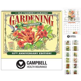 Promotional The Old FarmerS Almanac Gardening Wall Calendar - Spiral