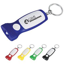 Customized Slim Led Light Key Chain