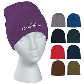 Promotional Embroidered Knit Beanie Cap