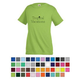 Custom Delta Pro Weight Youth Short Sleeve Tee
