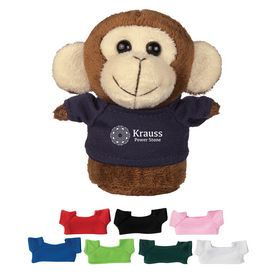 Promotional 4 Mini Plush Buddies Monkey
