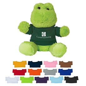 Promotional 6 Fantastic Frog Stuffed Animal