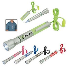 Custom Flashlight With Light-Up Pen