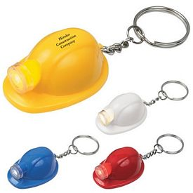 Customized Hard Hat Led Key Chain
