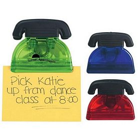 Promotional Memo Clips: Promotional Telephone Shape Bag Memo Clip