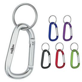 Customized 8Mm Carabiner With Split Ring