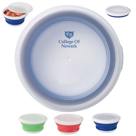 Promotional Microwave Safe Collapsible Food Bowl