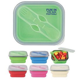 Promotional Collapsible Food Container