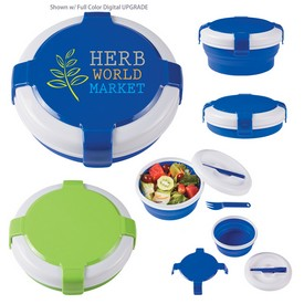 Custom Silicone Collapsible Lunch Set
