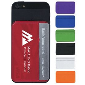 Customized Econo Phone Wallet Card Holder