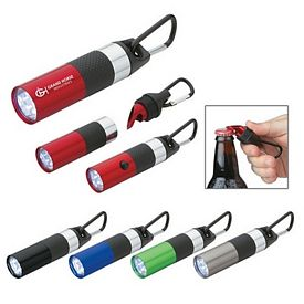 Customized Aluminum Led Torch With Bottle Opener