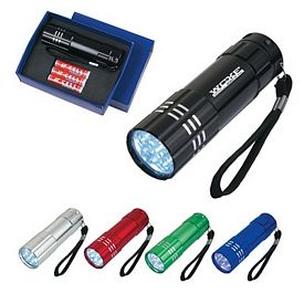 Promotional LED Flashlights: Promotional Aluminum Led Flashlight With Strap