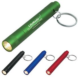 Promotional Aluminum Led Light Key Ring