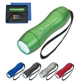 Promotional Aluminum LED Light With Strap