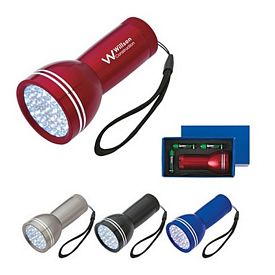 Promotional Mega Bright Aluminum LED Light with Strap