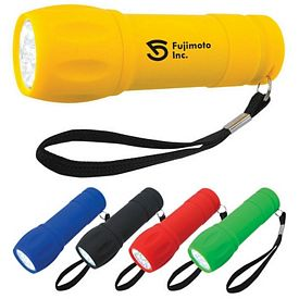 Promotional Rubberized Torch Led Light