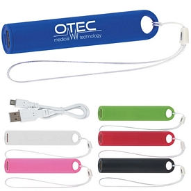 Promotional Round Wrist Strap Tablet-Phone Charger