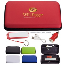Promotional Deluxe Travel Phone Charging Kit