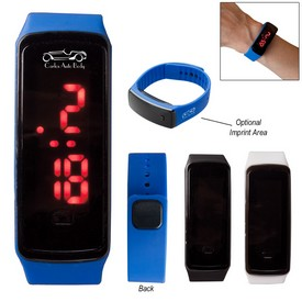 Customized Rectangle Unisex Digital Led Watch