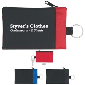 Promotional Folding Wallet With Key Ring