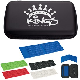 Customized Folding Wireless Keyboard With Case