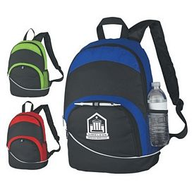 Promotional Curve Backpack