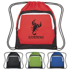 Customized Power Sports Pack Drawstring Bag