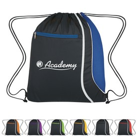 Promotional Mesh Accent Drawstring Sports Pack