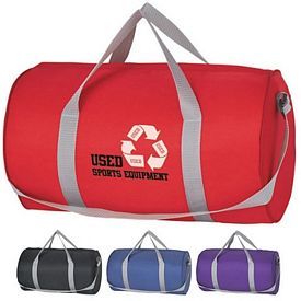 Promotional Fun Style Budget Duffle Bag