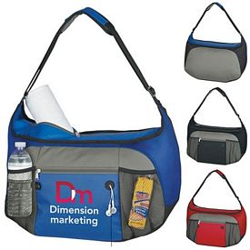 Promotional Hobo Duffel Bag - CLOSEOUT ITEM