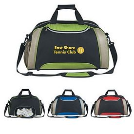 Promotional Duffel Bags: Promotional Excel Duffel Bag Screen Printed