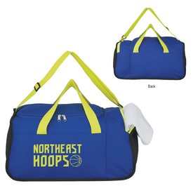 Promotional Two Compartment Duffel Bag