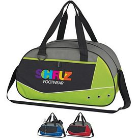Promotional Valley Grommet Duffel Bag - CLOSEOUT ITEM