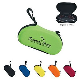 Promotional Sunglass Case With Clip