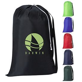 Custom Nylon Sling Strap Drawstring Bag