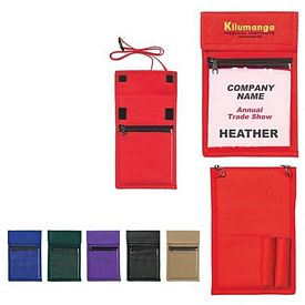 Promotional ID Holders: Promotional NonWoven Neck Wallet Badge Holder