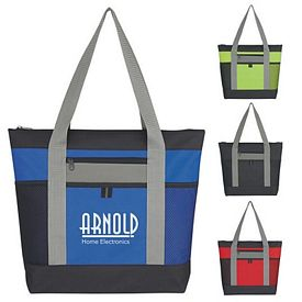 Custom Tri-Color Fun Style Tote Bag