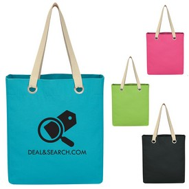 Promotional Vibrant Cotton Canvas Tote Bag