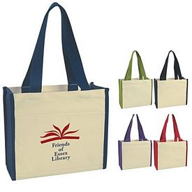Promotional Heavy Cotton Canvas Natural Tote Bag
